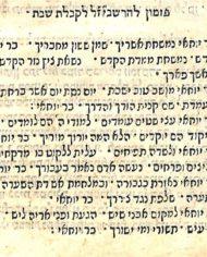 Batch 1 #5b Heichal Hashem